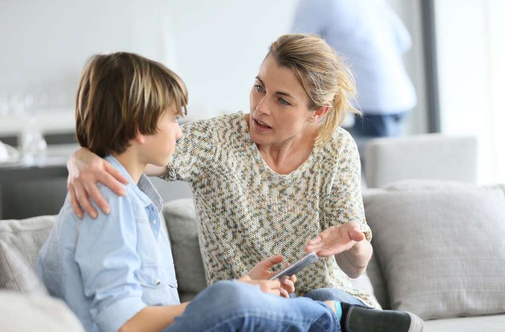 Learning points: Show your child how to cope with anxiety, not beat it