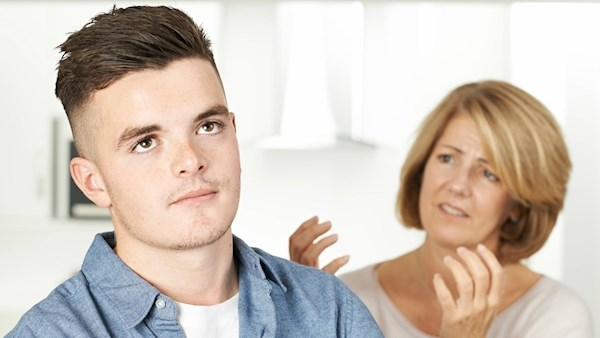 'Help! I'm afraid my son is being led astray by bad friends'